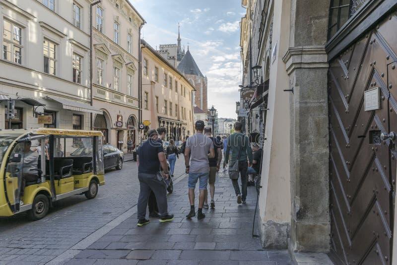 Улица в Кракове стоковые фото