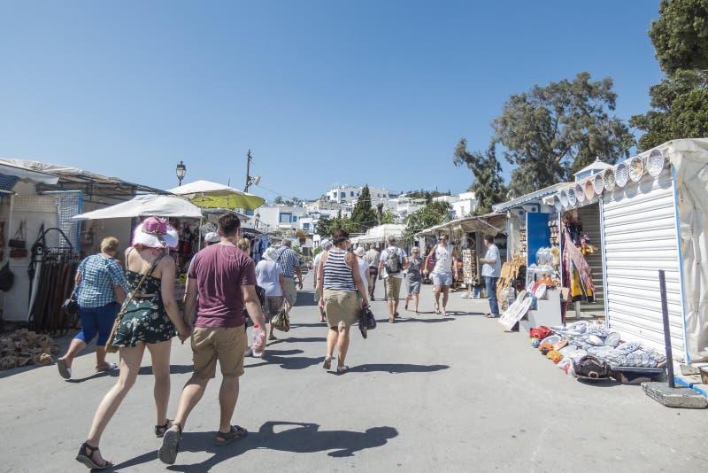 Улица в Тунисе стоковые изображения rf