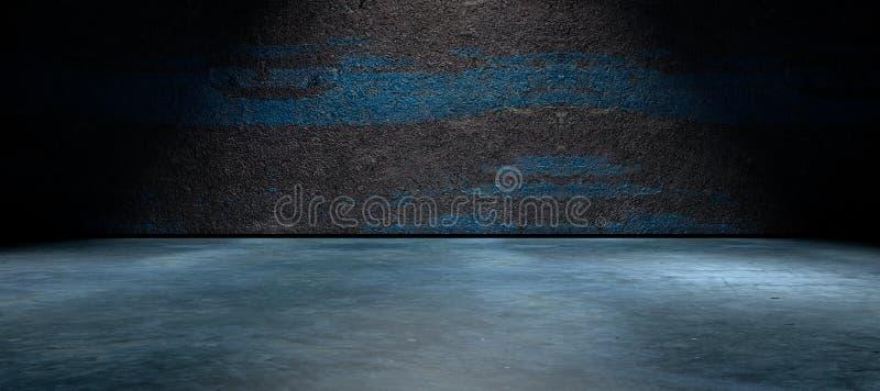 Улица и бетонная стена предпосылки пустые бесплатная иллюстрация