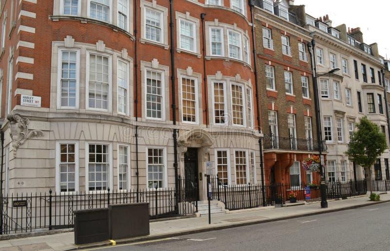 Улица Лондон Harley стоковая фотография rf
