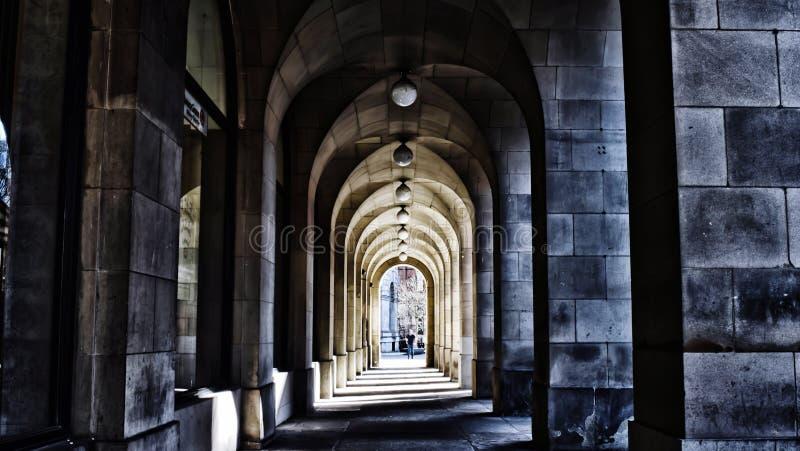 Улица Манчестера стоковое фото rf