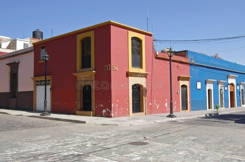 Улица Оахака стоковое фото