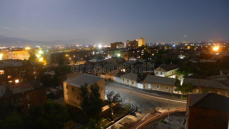 Улица освещения стоковая фотография rf