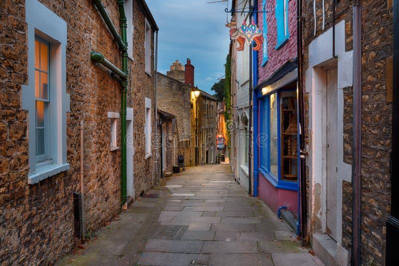 Улица Пола в Frome стоковое изображение rf