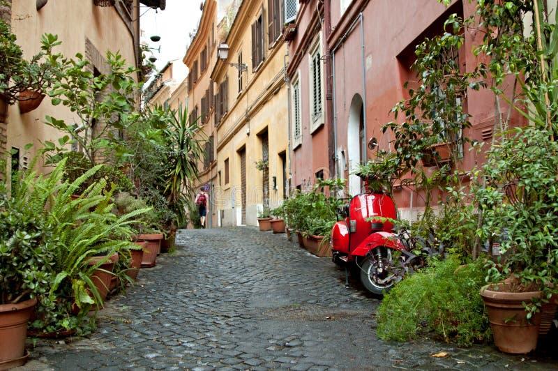 Улица 2 Рима стоковая фотография rf