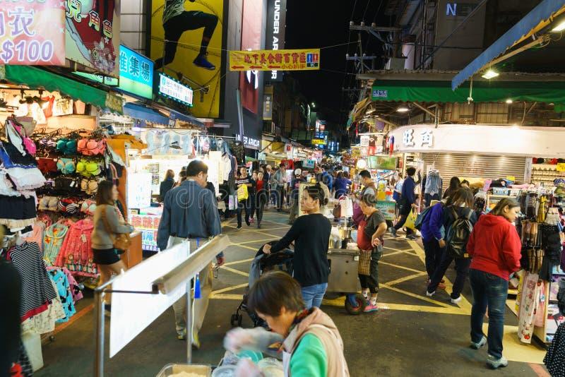 улица рынка taiwan стоковое фото rf