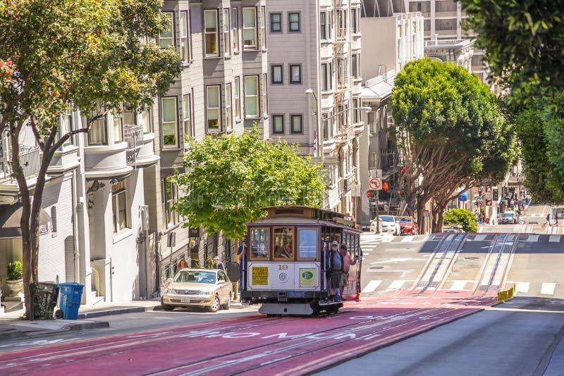 Улица Сан-Франциско Пауэлл стоковое изображение