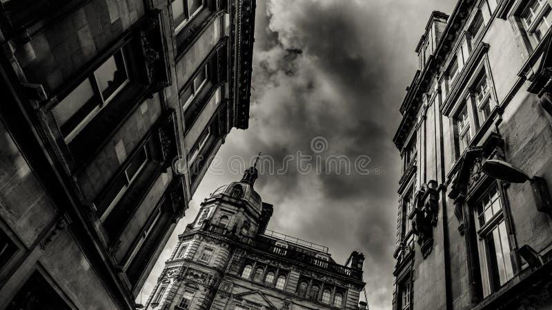 Улица Buchanan в Глазго стоковая фотография rf