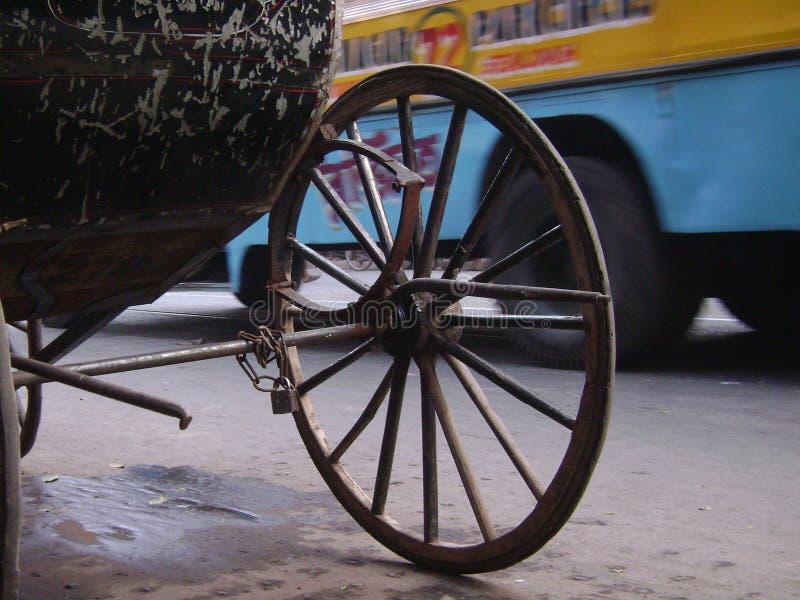 Улица Kolkata стоковые изображения