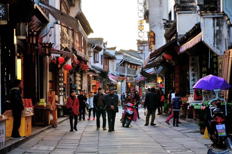 Улица Lao стоковое изображение rf