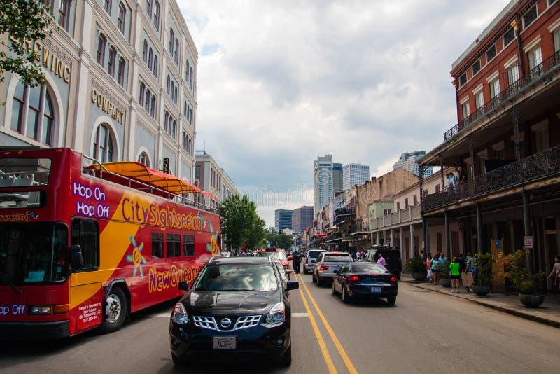 улица New Orleans стоковые изображения rf