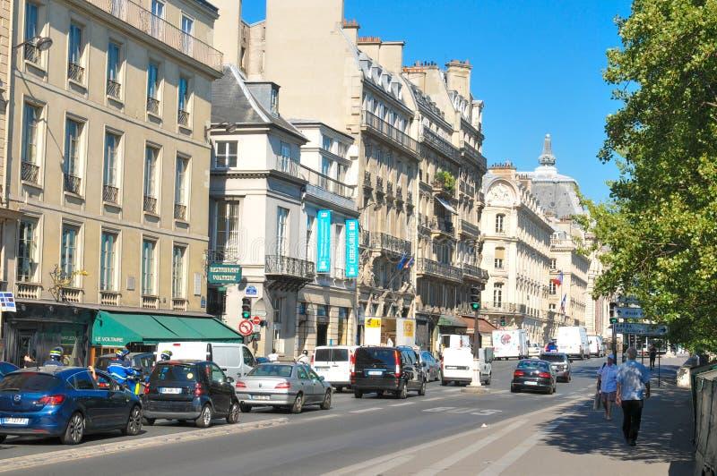 улица paris стоковые изображения