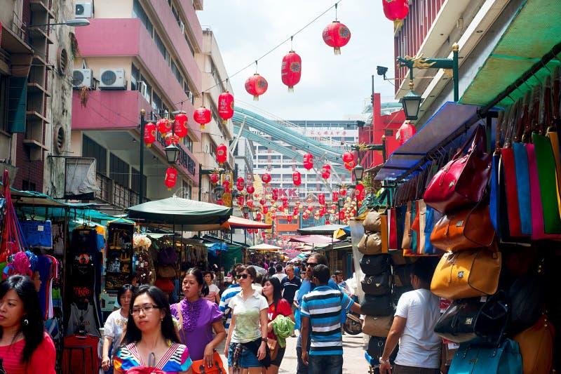 Улица Petaling стоковое фото