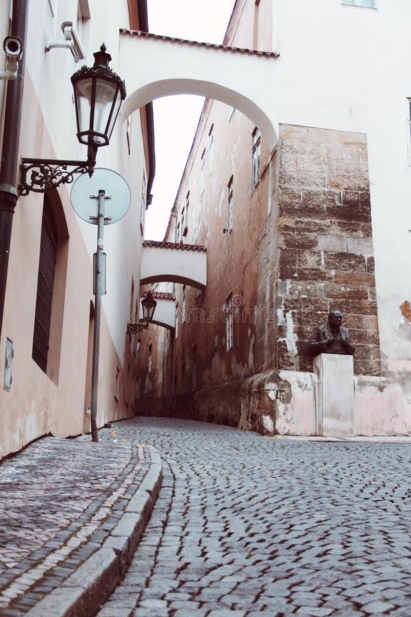 улица prague стоковое фото rf