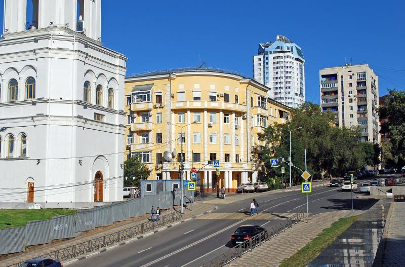 Улица Vilonovskaya samara стоковая фотография