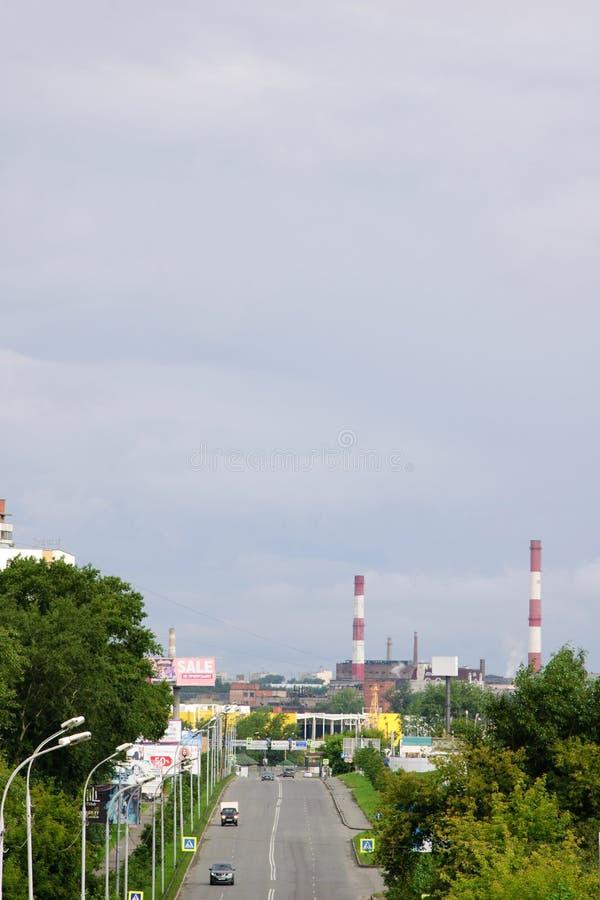 Улица Vostochnaya стоковая фотография rf