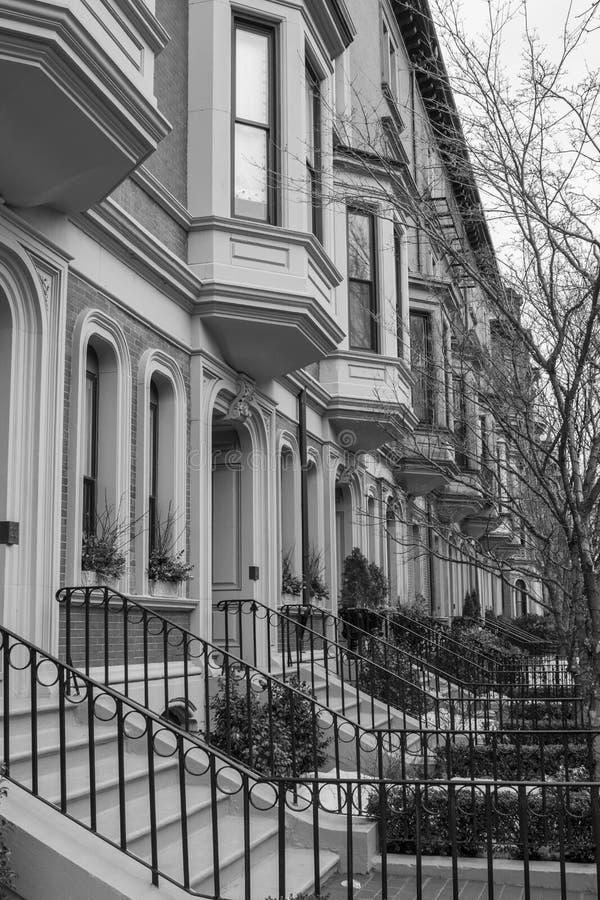 Улицы Бостона стоковая фотография rf