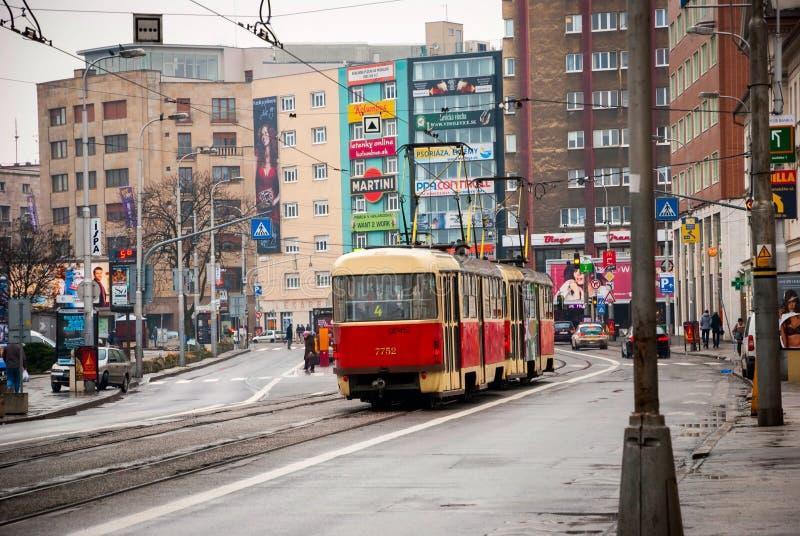 Улицы Братиславы, Словакии стоковое фото rf