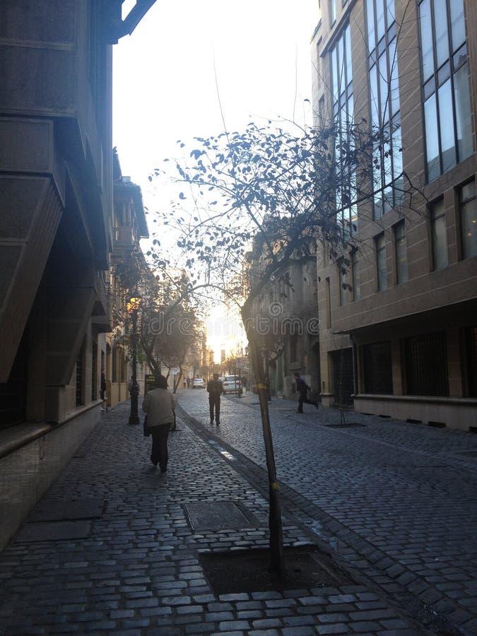 Улицы в Чили стоковая фотография rf