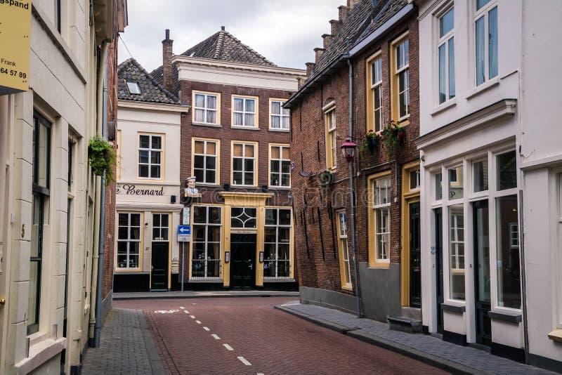 Улицы Bosch вертепа, Нидерланды стоковые фотографии rf