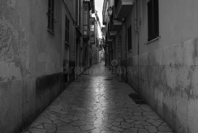 Улицы Palma de Mallorca стоковое изображение rf