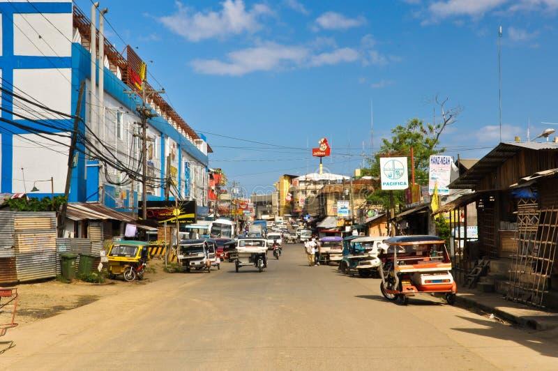 Улицы Puerto Princesa стоковое изображение