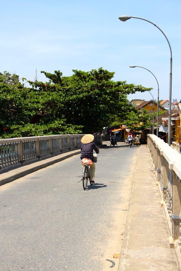 Уличные торговцы Ханой стоковая фотография