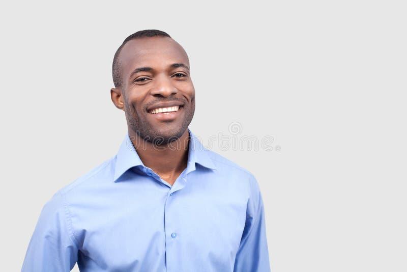 Удовлетворенный человек. стоковая фотография rf