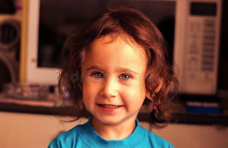 Улыбка детей стоковая фотография rf