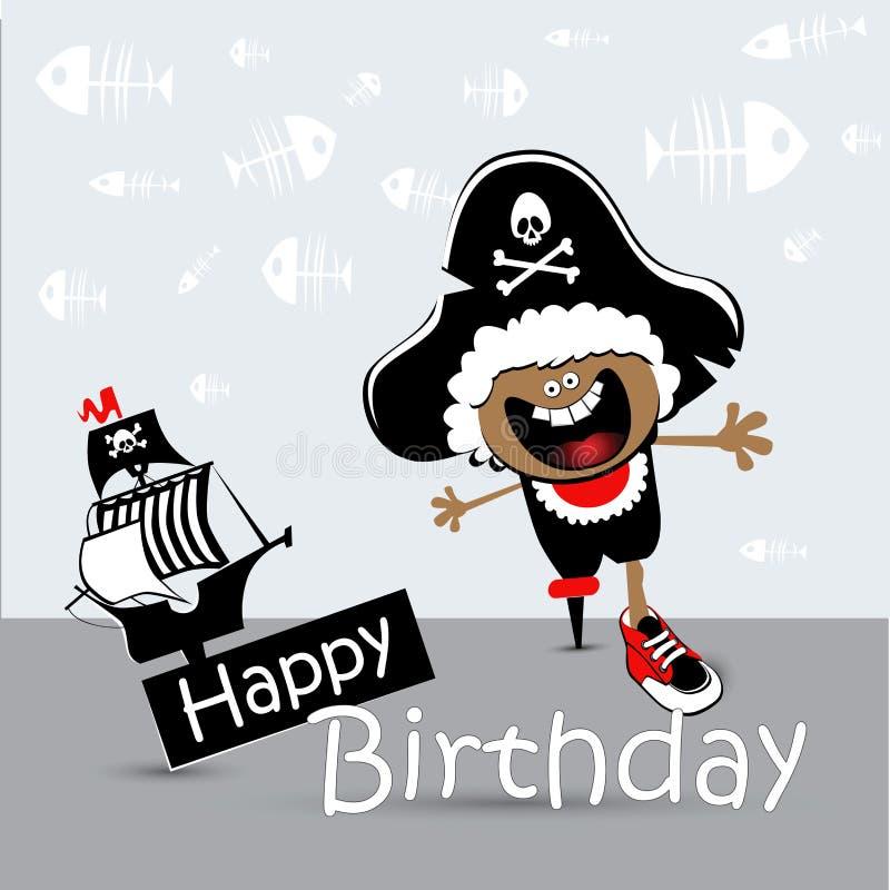Поздравление с днем рождения пирата