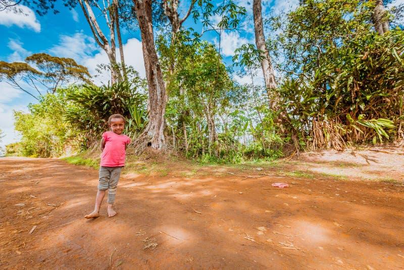 Улыбки Папуаой-Нов Гвинеи стоковая фотография rf