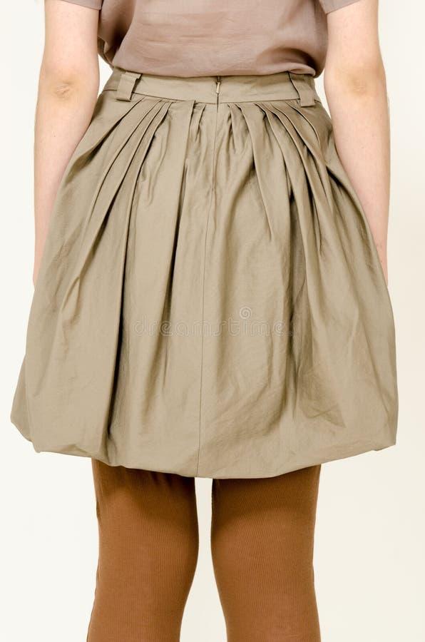 Ультрамодная юбка моды стоковая фотография rf