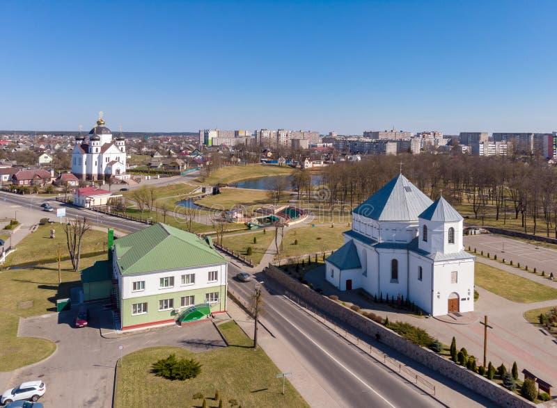 у synpunkten Sorgo, Vitryssland royaltyfria foton