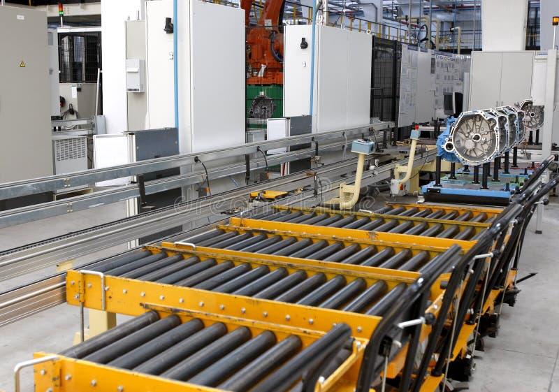 Фабрика двигателя стоковое изображение rf
