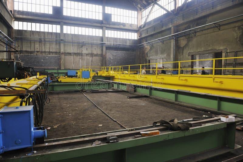 Фабрика крытая стоковое фото rf