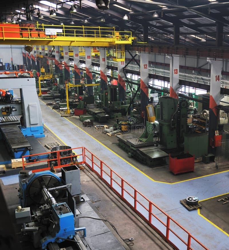 Фабрика металла industy крытая стоковые изображения