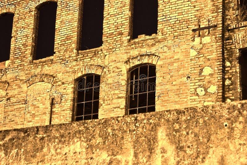 фабрика старая стоковые изображения