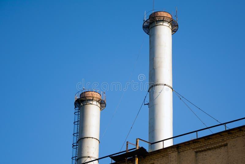 Фабрика трубы стоковое фото rf