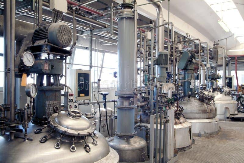 фабрика химии стоковые изображения