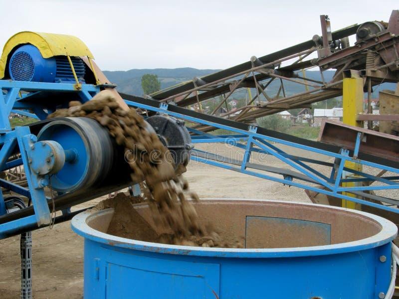 фабрика цемента стоковое изображение
