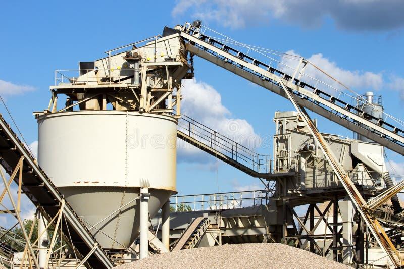 фабрика цемента стоковые фото