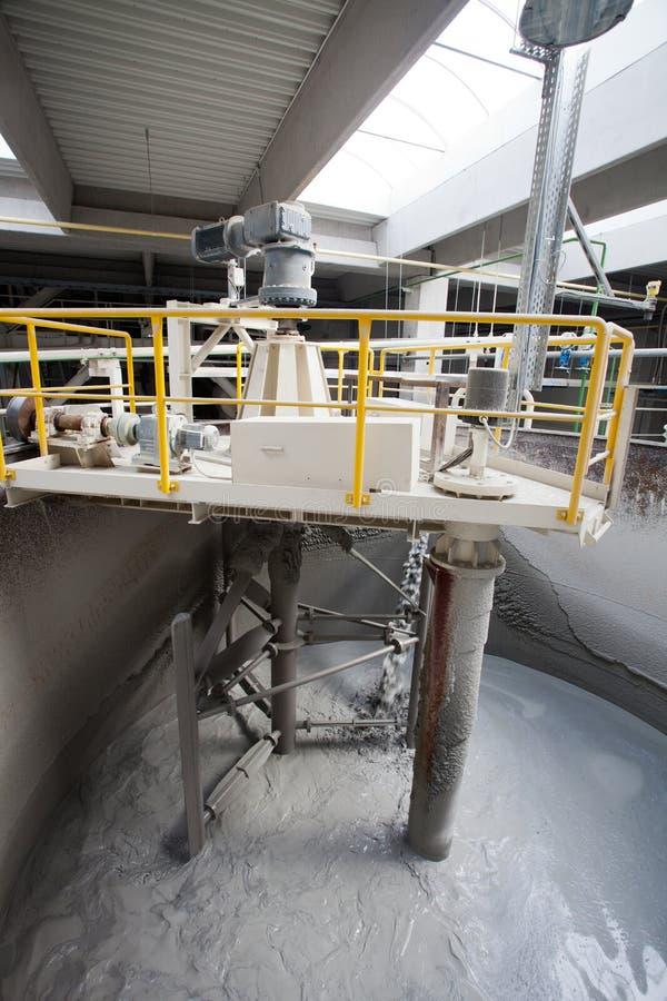 Фабрика цемента стоковое фото rf