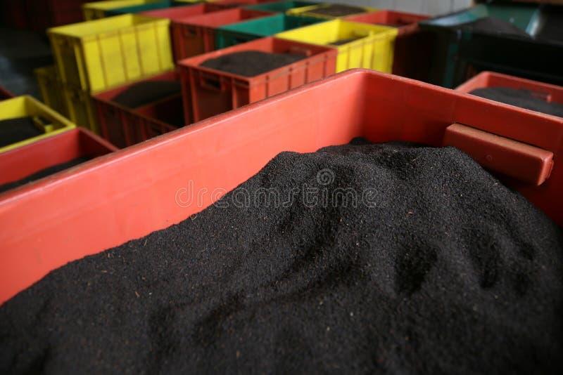 Фабрика чая стоковое изображение