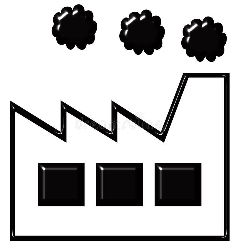 фабрика иллюстрация штока