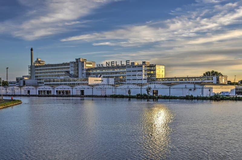 Фабрика Van Nelle и река стоковое фото