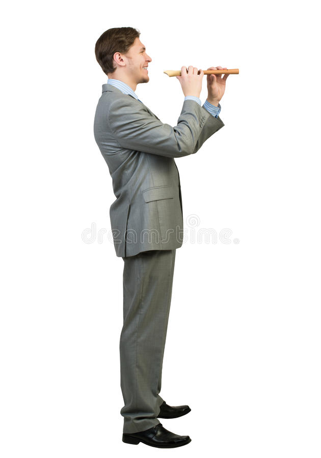 Файф игры бизнесмена стоковое фото rf