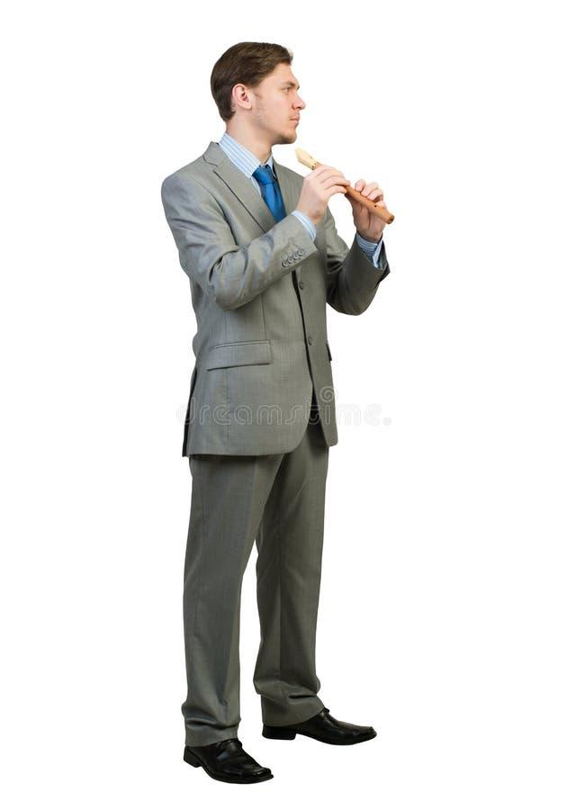 Файф игры бизнесмена стоковое изображение rf