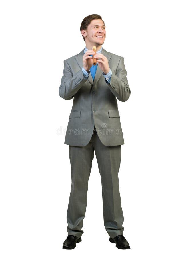 Файф игры бизнесмена стоковые изображения