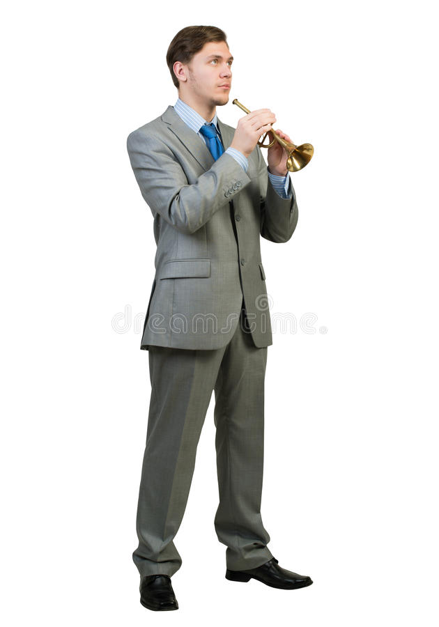 Файф игры бизнесмена стоковое фото