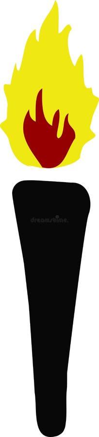 Download факел иллюстрация штока. иллюстрации насчитывающей символ - 6863580